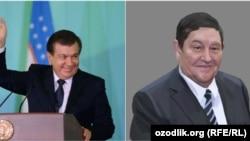Президент Узбекистана Шавкат Мирзияев (слева) и Рустам Иноятов, теперь уже бывший руководитель СНБ.