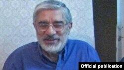 Iran -- Mir Esmail Musavi and his son Mir Hossein Musavi, undated