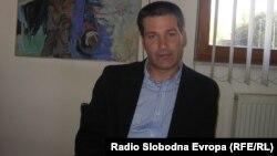 """Горан Стојковски, директор на кумановско локално комунално претпријатие за водоснабдување """"Водовод""""."""
