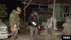 Пост милиции в Буйнакске, на который напали боевики