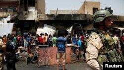 Napad u Sadr sitiju u Bagdadu, 11. maja 2016.