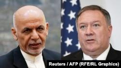 رئیس جمهور افغانستان و وزیر خارجه ایالات متحده در مکالمه تلیفونی شام پنجشنبه شانتلاشهای صلح افغانستان را به بحث گرفتند.