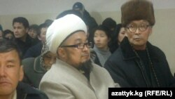 Чӯбак-ҳоҷӣ Ҷалилов дар додгоҳи Бишкек. 27 феврали соли 2013