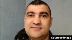 Аброр Хидиров. Фото сделано в депортационном центре 1 апреля 2019 года.
