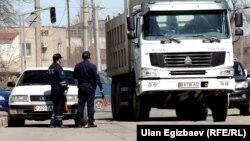 Жол кайгуул кызматкерлери. Бишкек