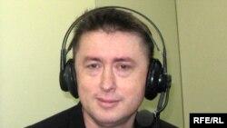 Микола Мельниченко у студії Радіо Свобода