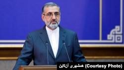Gholamhossein Esmaeili, Iran's judiciary spokesman says Iran has freed a German citizen after Germans released an Iranian national facing extradition to the U.S. FILE PHOTO