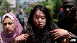 Жінка, поранена під час нападу у Найробі