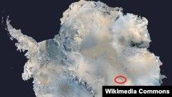 Восток көлү, Антарктика.
