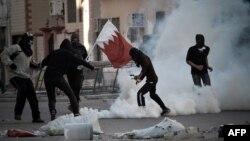 Бахрейндегі наразылықтар. 14 ақпан 2013 жыл.