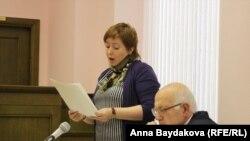 Ольга Романова выступает в защиту мужа в Верховном суде