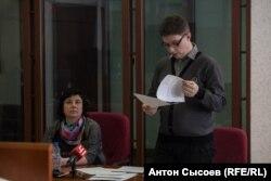 Катерина Вологженинова та її адвокат