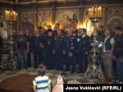 Під час церемонії в церкві святого Миколи в Которі