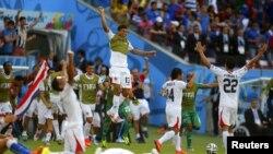Сборная Коста-Рики выиграла турнир в группе D чемпионата мира