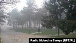 Ndotja e ajrit në Shkup