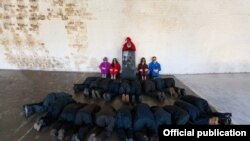 Санкт Петербургда сўз ҳокимлиги инсталляцияси
