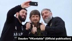 Магомед Даудов, Рамзан Кадыров и Адам Делимханов