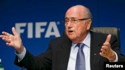ФИФА президенти Йозев Блаттер