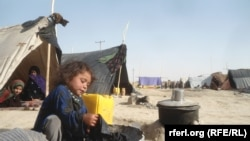 FILE: A displacement camp in Faryab