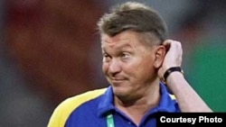 Олег Блохин - главный тренер футбольной сборной Украины