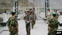 Таджикские пограничники.