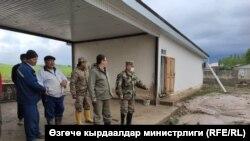 Баткен облусунун Лейлек району. 3-май, 2020-жыл.