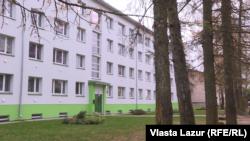 Один з перших модернізованих будинків в естонському місті Раквере