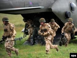 Учения британской армии
