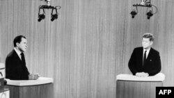 Prva predsednička televizijska debata održana je u Americi davne 1960. godine između Džona Kenedija i Ričarda Niksona
