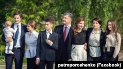 Президент України Петро Порошенко із родиною (архівне фото)