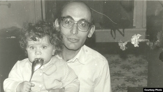 Arif Yunus with daughter Dinara