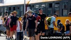 Turisti iz Češće u Rijeci, jul 2020.