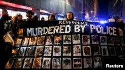 Демонстрация в Чикаго. 24 ноября 2015 года.