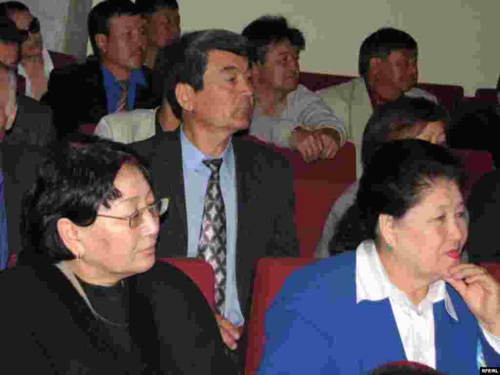 Коммунисттер шайлоого өзүнүн талапкерин алып чыгышы керек деген сунуштар айтылды. - Kyrgyzstan -Congress of Communist Party To Nominate Its Candidate to Presidential Election. 2May2009