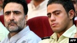 مصطفی تاجزاده در یکی از دادگاههای پس از انتخابات خرداد ۸۸