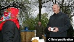 Alyaksandar Lukashenka (arxiv fotosu)