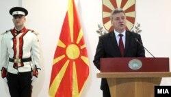 Gjorge Ivanov, makedonski predsjednik