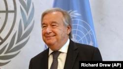 Генералниот секретар на Обединетите нации Антонио Гутереш