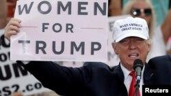 Кандидат в президенты США от Республиканской партии Дональд Трамп.