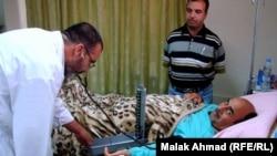 في احد مستشفيات بغداد(من الارشيف)