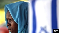 یک پناهجوی سودانی در بیت المقدس (اورشلیم)
