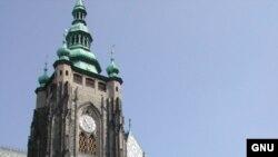 Строительство Собора святого Вита было начато в X веке