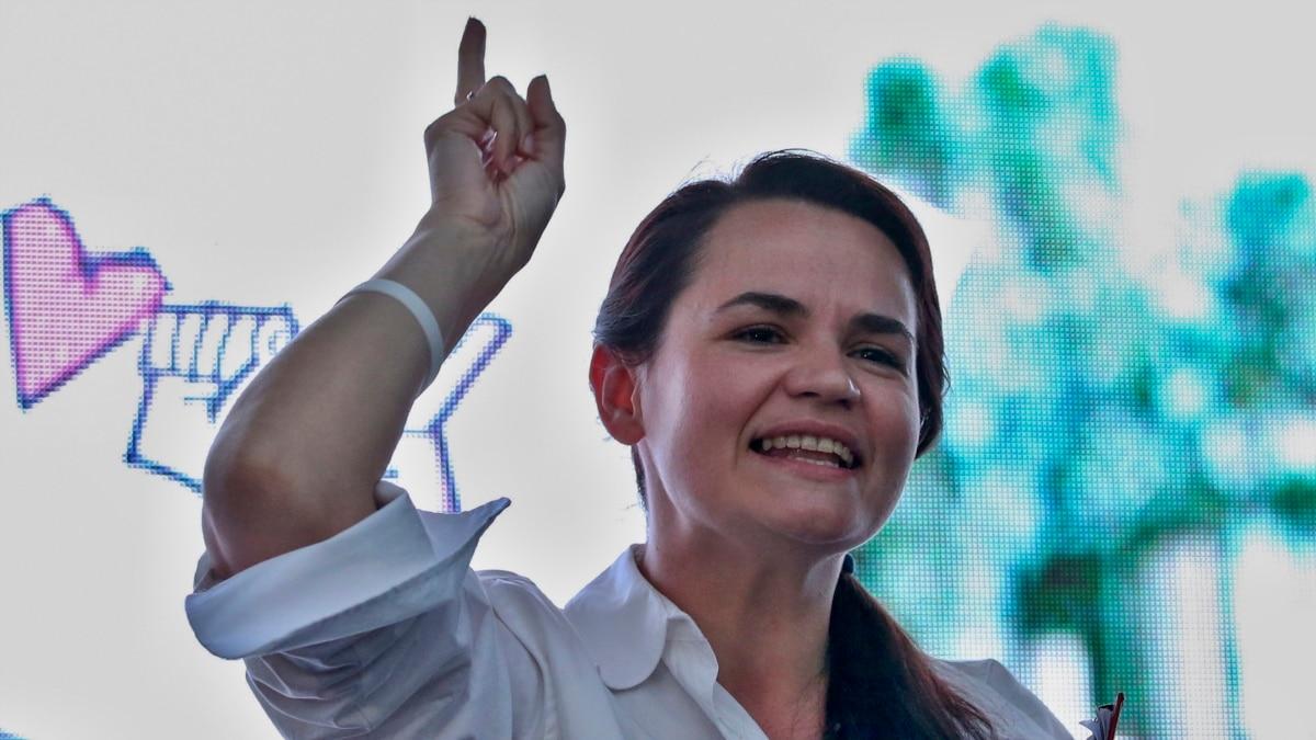 Тихановська: жаль, что власти России стала на сторону диктатора