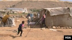 Nearly half a million Syrians have fled to Lebanon because of Syria's ongoing civil war.