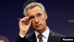 NATO Secretary-General Jens Stoltenberg of Norway took office on October 1.