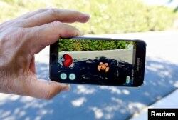 Pokemon Go в Калифорнии. 11 июля
