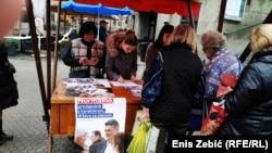 Prikupljanje potpisa za kandidaturu Zorana Milanovića