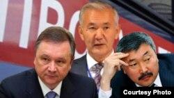 Игорь Чудинов, Искендербек Айдаралиев жана Карганбек Самаков.