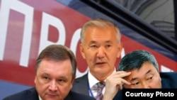 Жер сатуу иши боюнча соттолгон Игорь Чудинов, Искендербек Айдаралиев жана Карганбек Самаков.