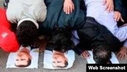 """Чтобы соответствовать """"учителю"""", чеченскому муфтияту не хватает еще одобрить молитву на коврике с фотографией Кадырова"""